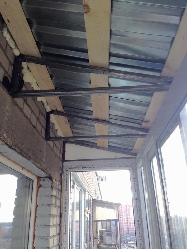 Утепление балкона в хрущёвке