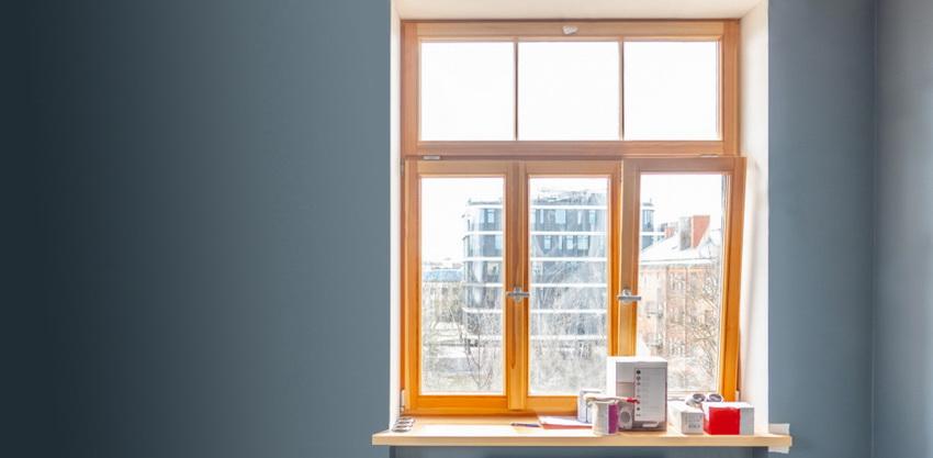 Ламинированные окна в квартире