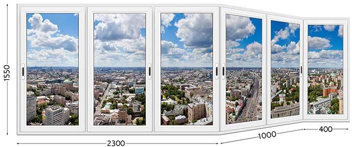 Балкон типа Каблук
