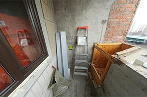 Утепление и остекление балкона на ул. Маршала Ушакова – До начала работ