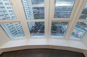 Ремонт и остекление балкона - серия дома КОПЭ Парус
