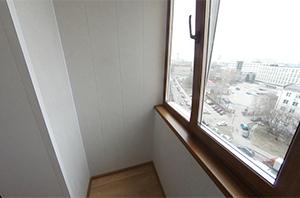 Совмещение балкона с комнатой серия дома П-46