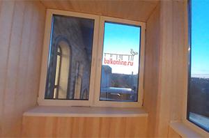 Schüco Дом Щербинка - Остекление лоджии – После завершения работ