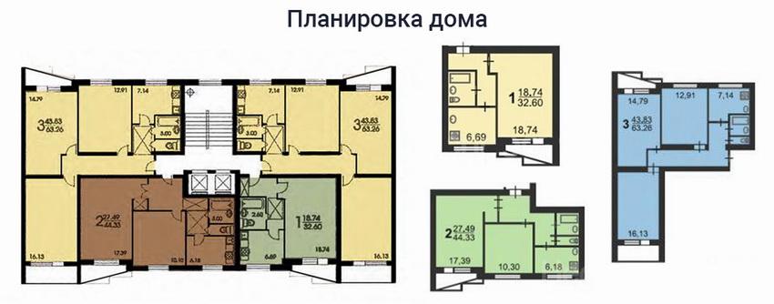Серия дома II-57