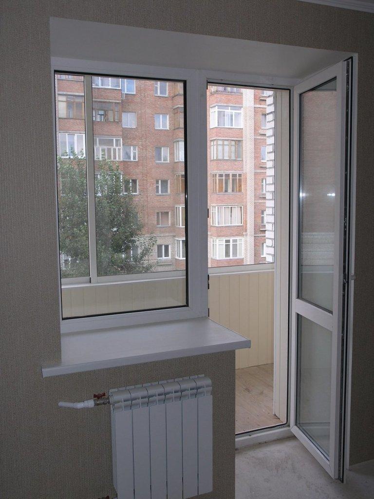 замена балконного блока цена с установкой